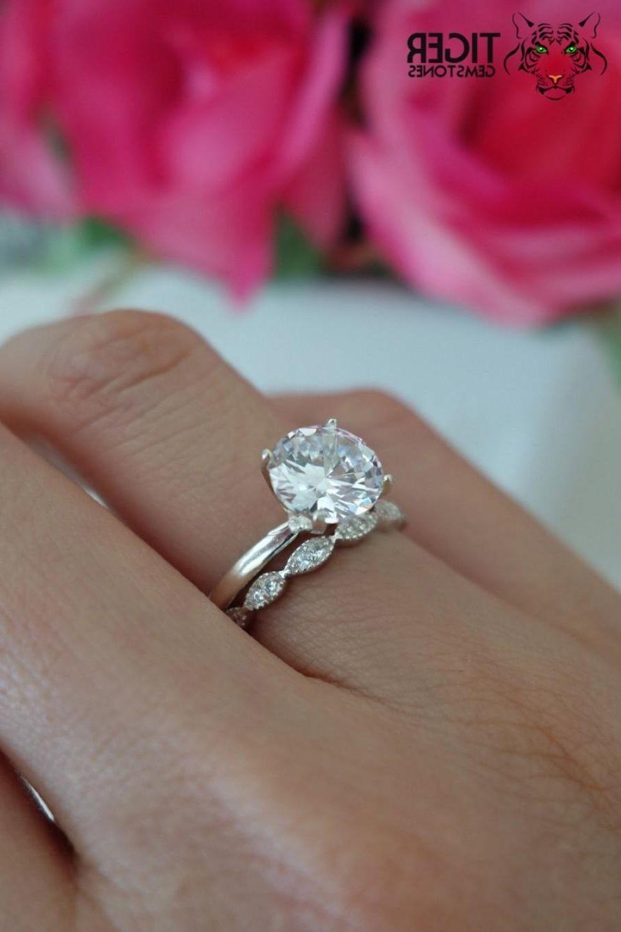 2 carat solitaire diamond ring set in platinum diamond