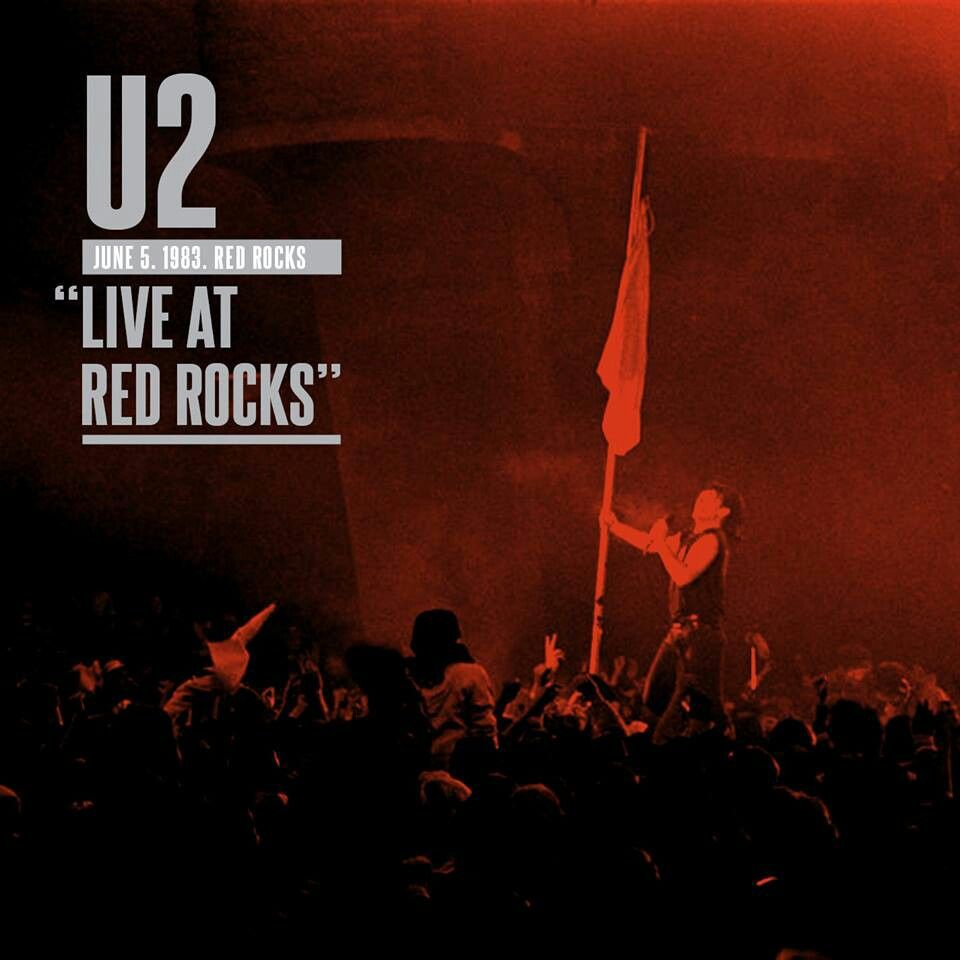 U2 Live At Red Rocks Music Album Covers Music Album Covers Music Albums Music Artwork