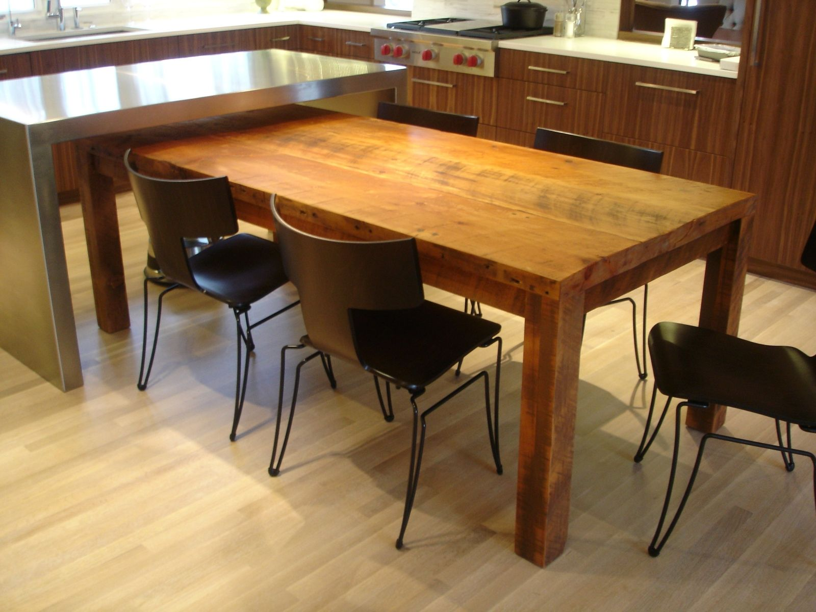 Diy Dining Table Ideas  Rustic Wood Rustic Dining Tables And Brilliant Custom Made Dining Room Tables Decorating Design