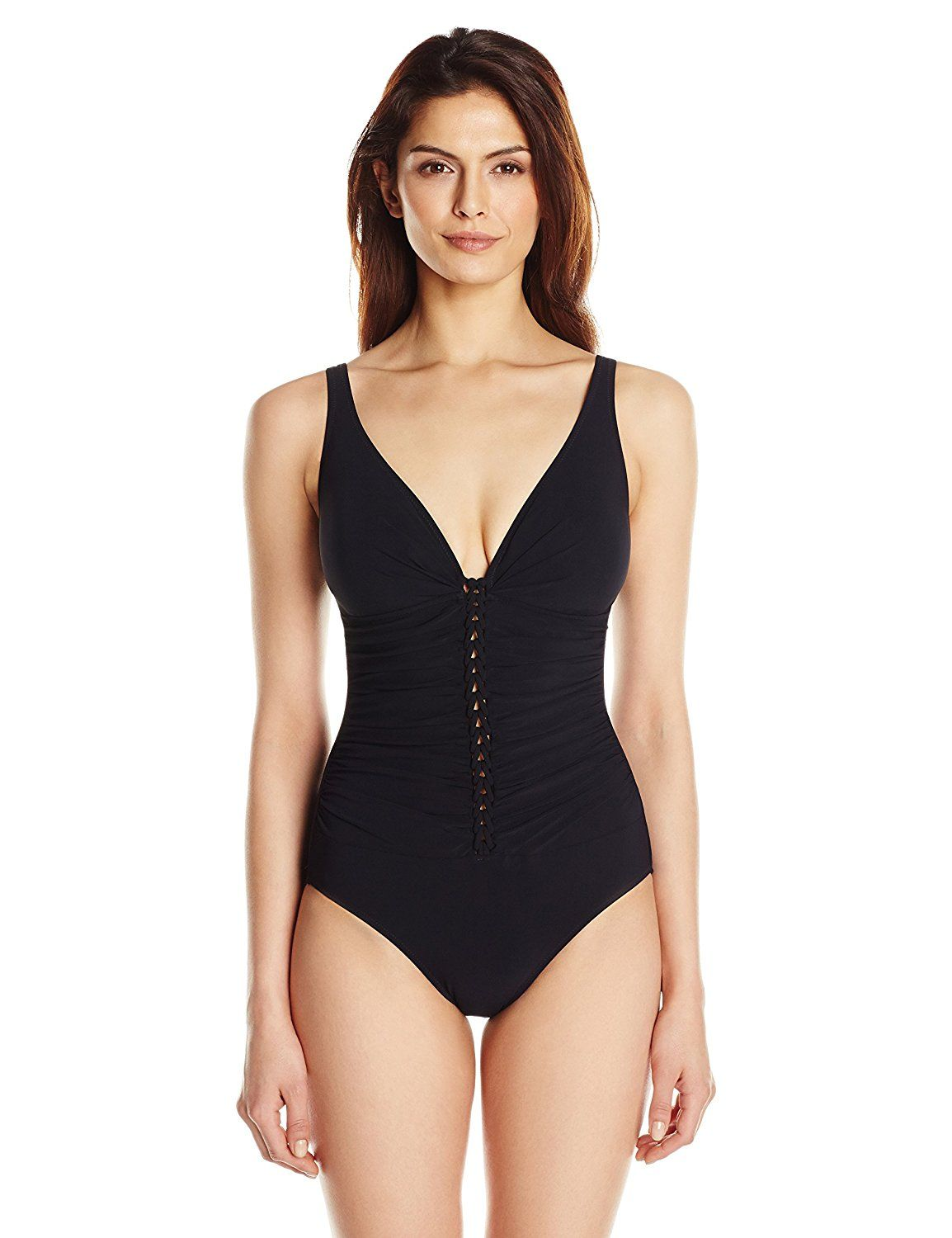05b61080992f8 Profile by Gottex Women's Waterfall D Cup One-Piece Swimsuit -- This is an  Amazon Affiliate link. Be sure to check out this awesome product.