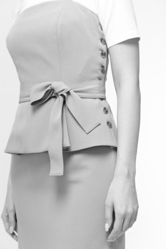 Выкройки на индивидуальные размеры   Платье с коротким