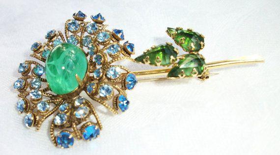 Exquisite Schreiner New York Blue & Green by BohemianStarlet