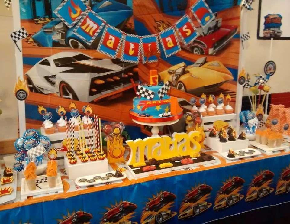 Hot Wheels Birthday Los 5 Anitos De Mati