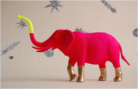 Revitalize your plastic animals with a splash of new colors