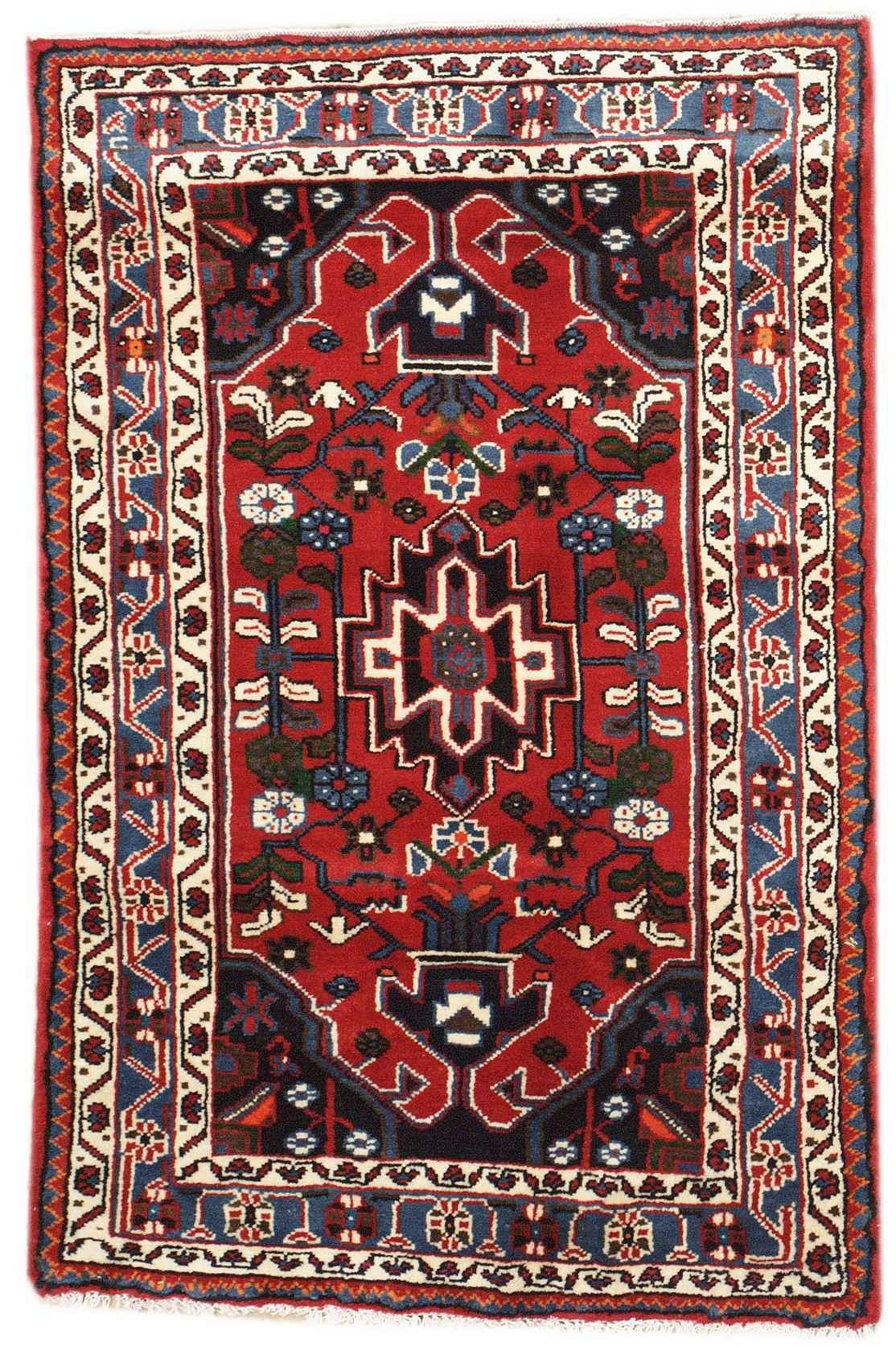 Semiantique Persian Hamadan Area Rug 47747 Tappeti