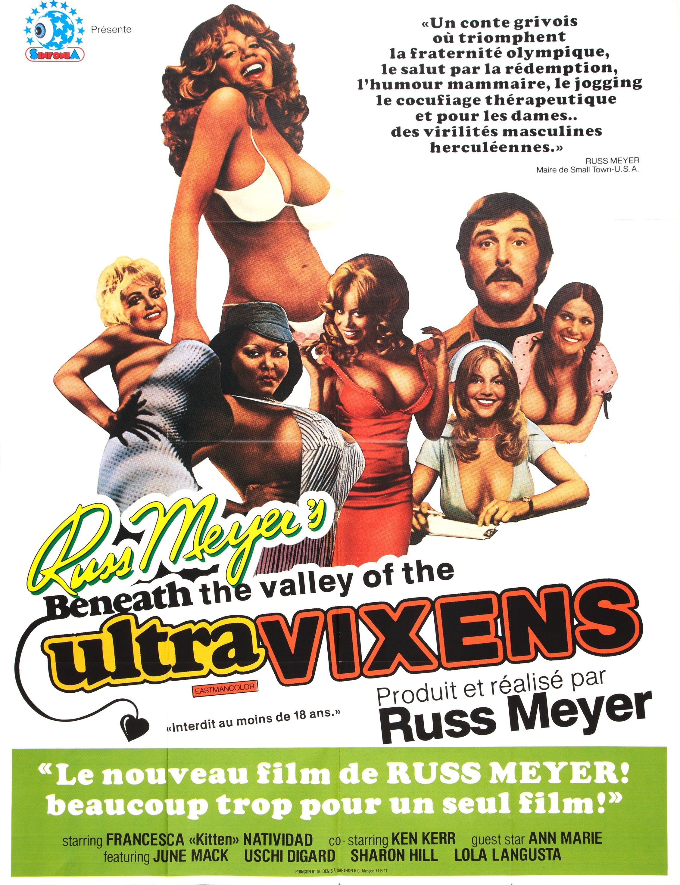 Beneath The Valley Of The Ultravixens 1979 Old Movie Posters