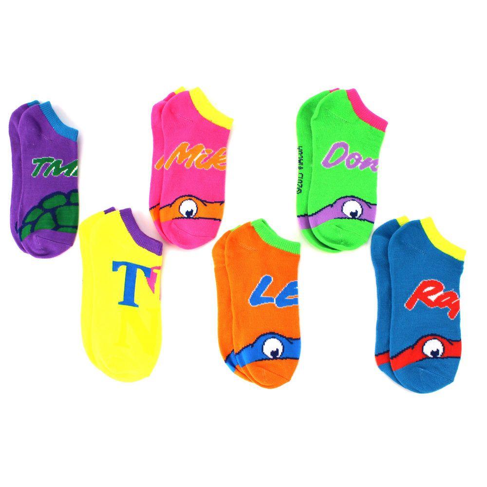 Shoe 10.5-4 Picture - Ariel, Rapunzel, Aurora Disney Princess Sock ~ Size 6-8