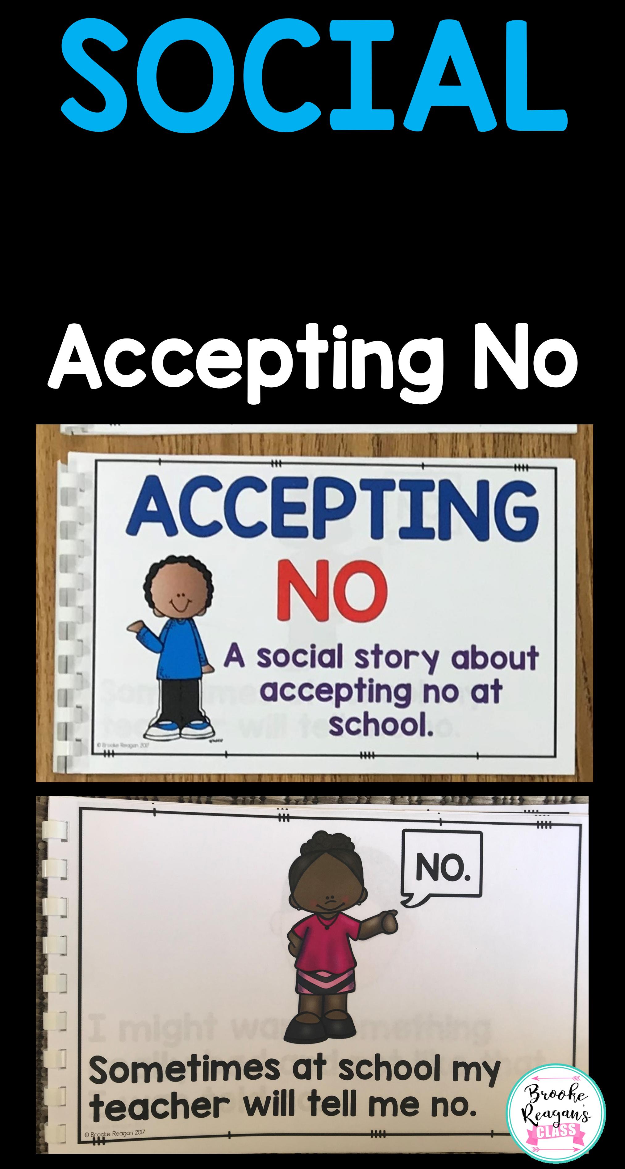 Social Story Accepting No