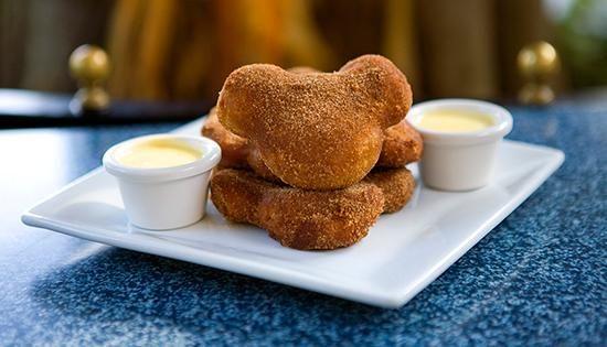 Pumpkin Beignets with Vanilla Crème Anglaise #LimitedTimeMagic