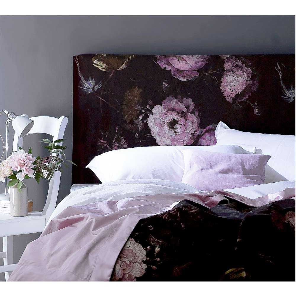 floral headboards double