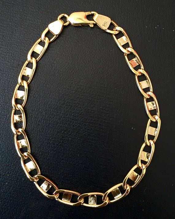chains yellow half gold chain mens link miami kilo cuban ye solid for men colossal