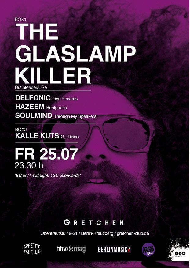 RA: Appetite: The Gaslamp Killer at Gretchen, Berlin (2014)