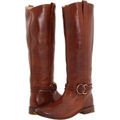 Frye Shirley Multi Strap Harness boots.
