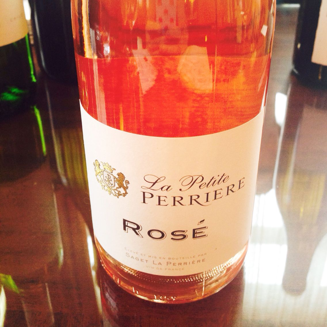 2014 La Petite Perriere Rose Fresh Watermelon Brite Cherry Kisses And Fields Of Strawberries All In One Sip Yummo Fresh Watermelon Wine Bottle Cherry Kiss
