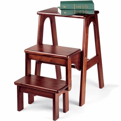 Folding Steps For Library Step Stool Wood Step Stool Kitchen Step Stool