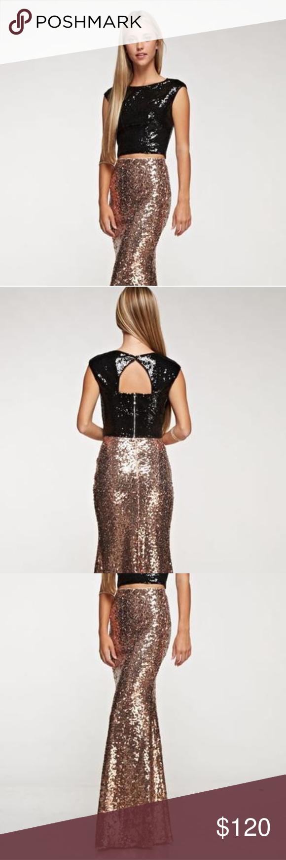 piece sequin topskirt sequin top sequins and dress prom