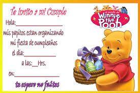 Resultado De Imagen De Winnie Pooh Bebe Cumpleaños