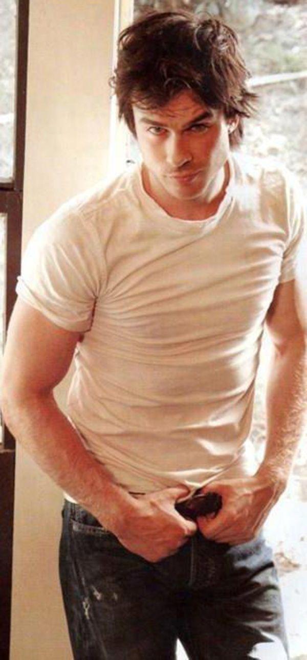 Ian Somerhalder - words can't describe how gorgeous #TVD #DamonSalvatore