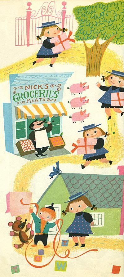 The Golden Book of Little Verses by Miriam Clark Potter, illustrated by Mary Blair. Simon & Schuster, 1953. (A Big Golden Book)