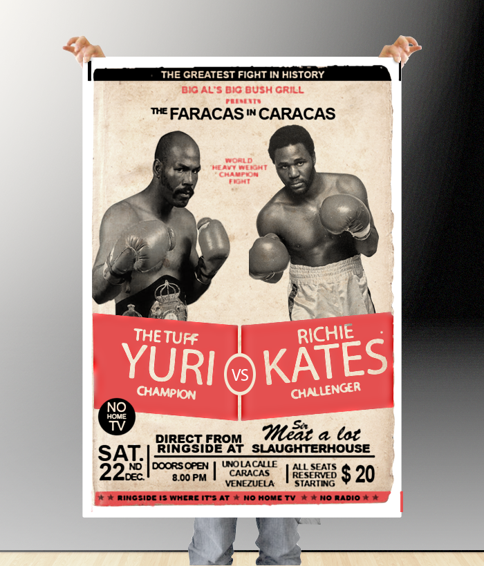 Retro Boxing Psd Mockups Boxing Posters Free Psd Flyer Photoshop