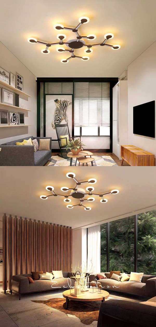 Nordic Art Tree Branch Led Ceiling Lights For Bedroom Dining Room Cafe Postmodern Living Room Lights In 2020 Ceiling Lights Bedroom Ceiling Light Living Room Lighting