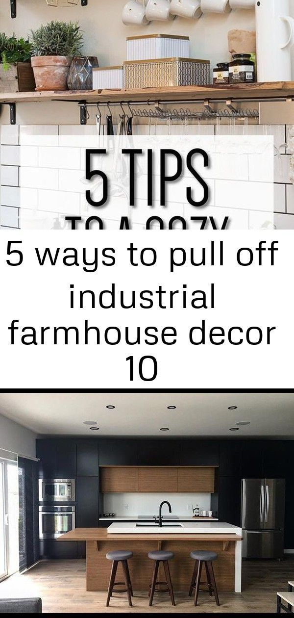 5 ways to pull off industrial farmhouse decor 10#decor #farmhouse #industrial #pull #ways #industrialfarmhouselivingroom