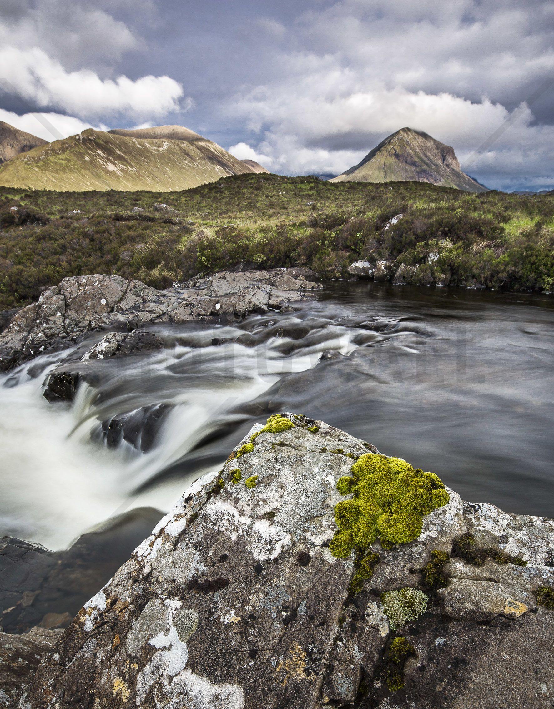 Beautiful Landscape Isle of Skye Scotland
