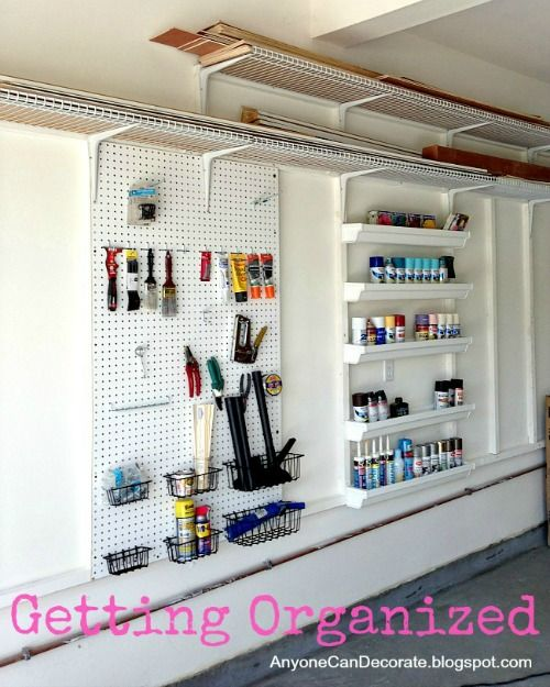 How To Organize Your Garage Work