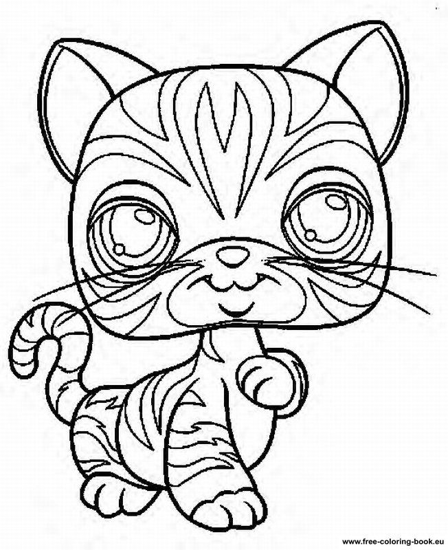 Coloring pages Littlest Pet Shop Page 1 Printable Coloring