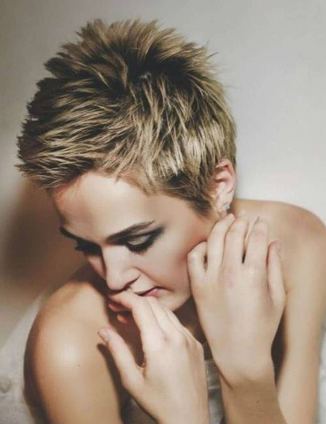 short spiky haircuts for women | hair styles | pinterest