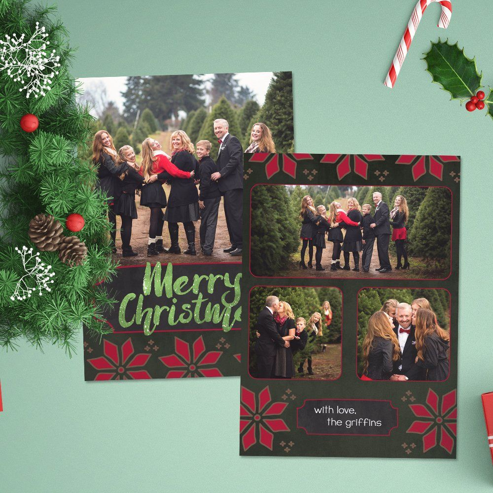 12 Christmas Card Templates To Get You Up And