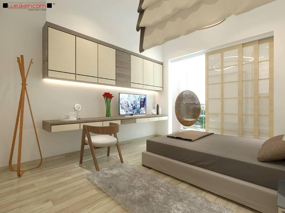 Weiken Interior Retro Master Bedroom