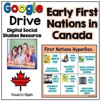 This digital resource for First Nations in Early Canada is meant to be used with a student's Google account. You can add this file to Google Classroom or simply share it with students. When you download this file it will provide you with a link to a Google Slides presentation.