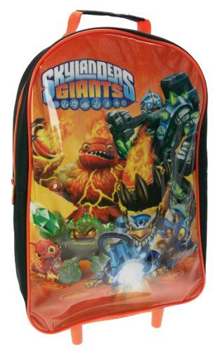 a349ea1ad7b8 Skylanders Giants Wheeled Bag  Perfect for the little man. Find this Pin  and more on Cool Character Backpacks ...