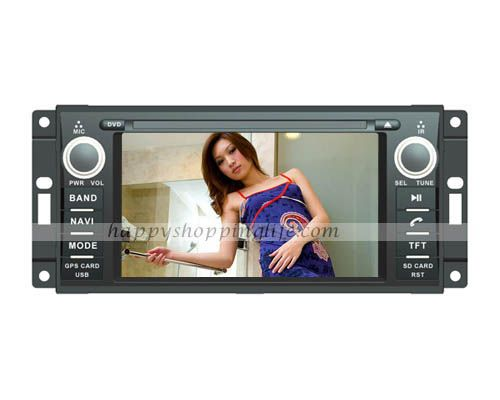 Car DVD Navigation for Jeep Wrangler with Bluetooth Touchscreen