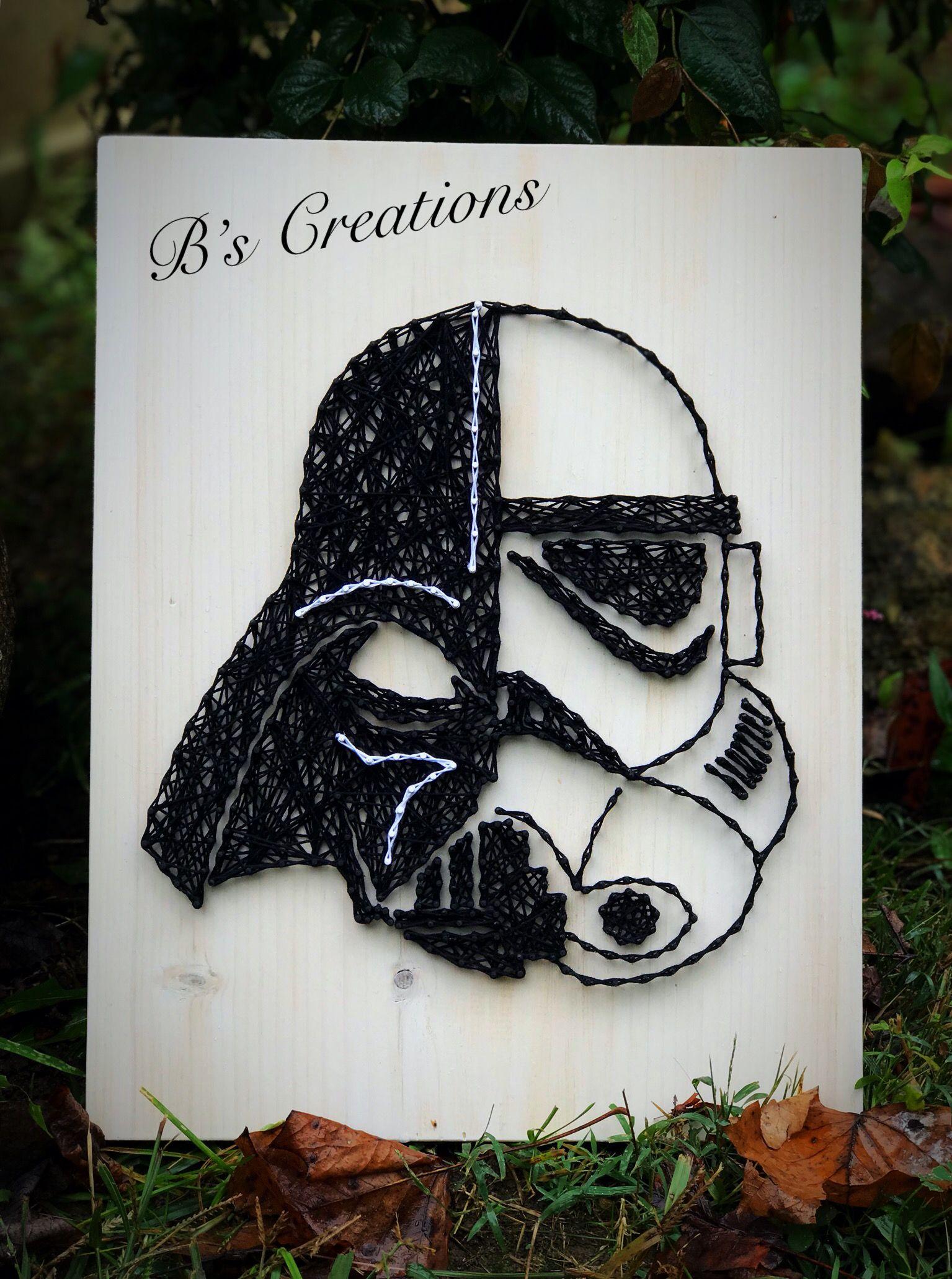 Star Wars string art !! | string art | Pinterest | Hilo, Cuadro y ...
