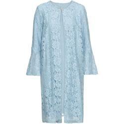 Spitzen-Kurzmantel langarm in blau für Damen von bonprix Bodyflirtbodyflirt #rosaspitzenkleider