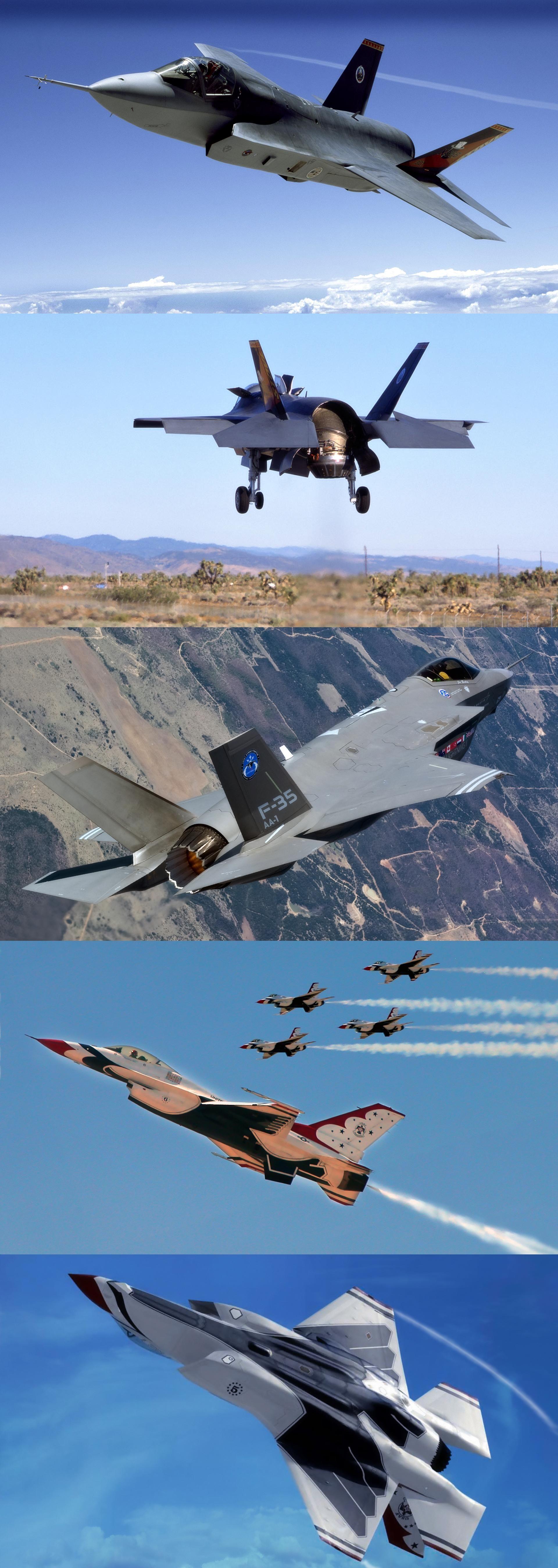 Lockheed Martin F35 Lightning II Boeing, Fighter jets