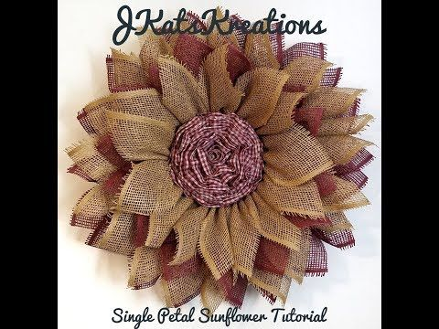 Photo of Mesh Sunflower Wreath Tutorial