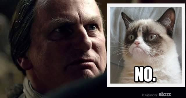 Grumpy cat and Callum...