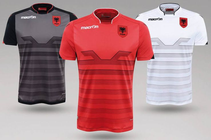 Macron Albania Euro 2016 Kits Released - Footy Headlines More 15eeb2d26
