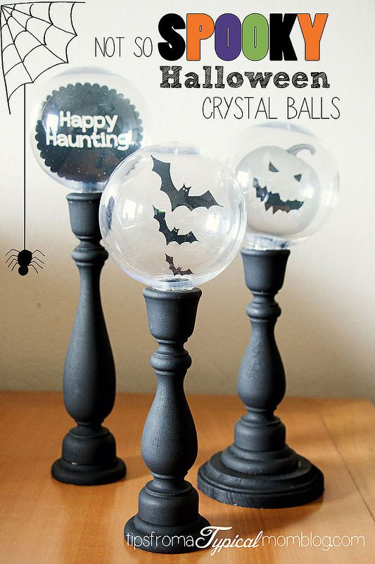 Halloween Crystal Ball Candlestick Decorations In 40 Halloween Best Halloween Crystal Ball Decoration