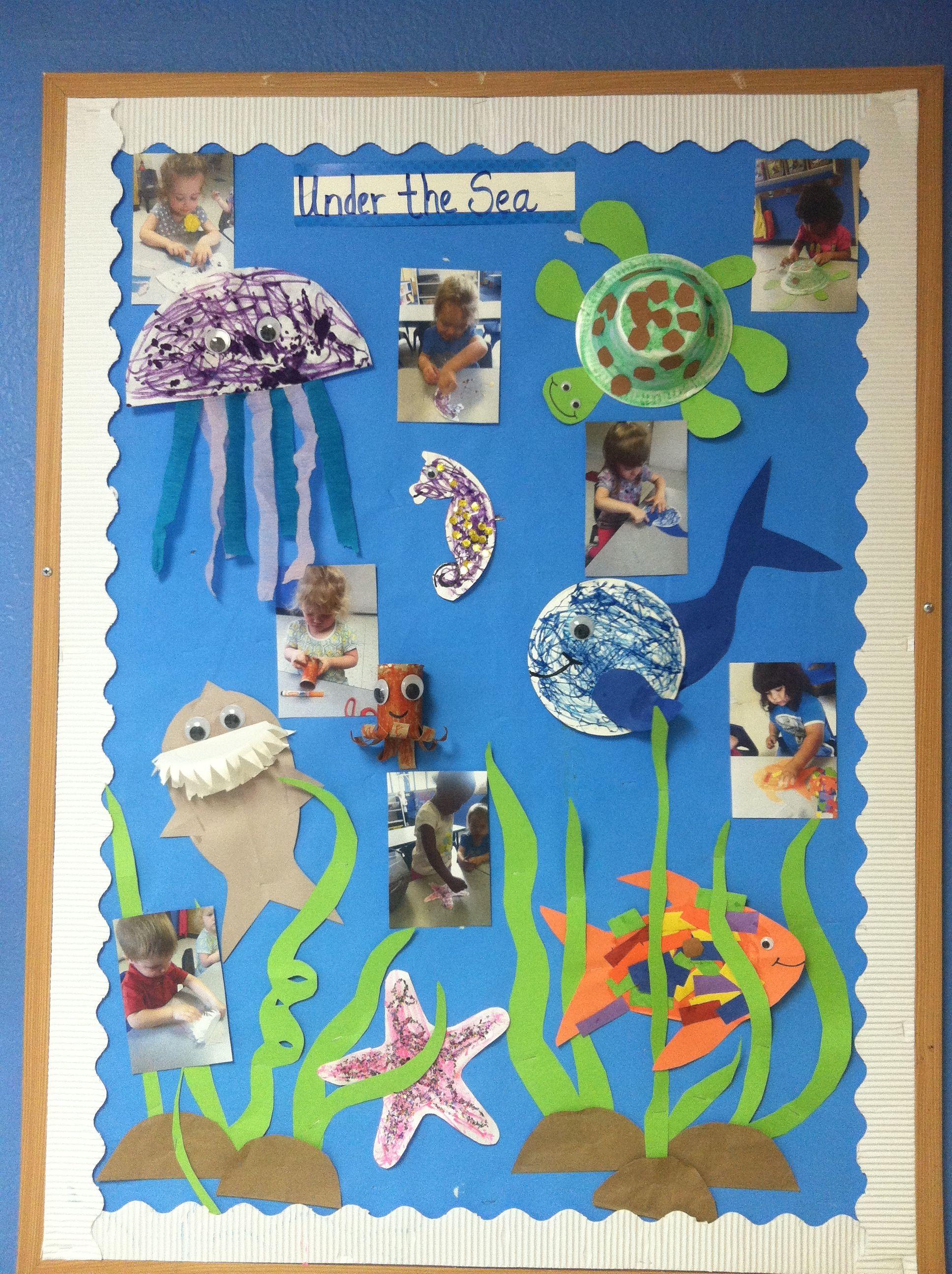 Under the sea animal crafts | animals class unit | Pinterest | Sea ...