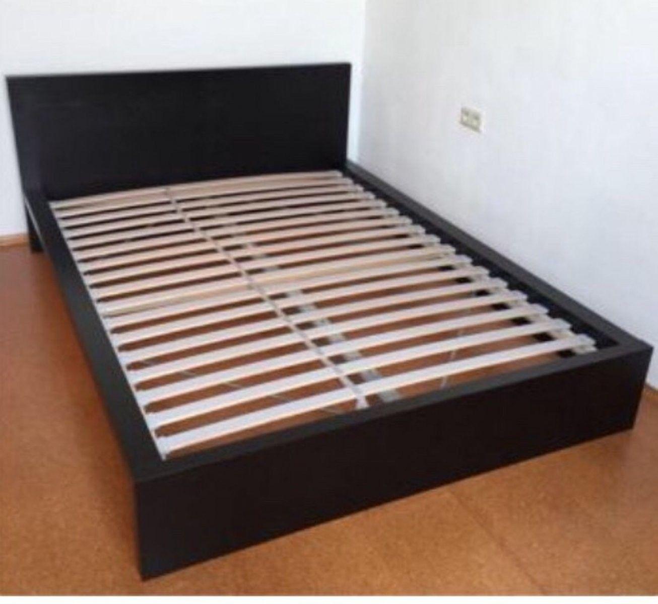 Gebraucht Malm Bett Flach Schwarz 140x200 In 6020 Innsbruck Um Von Bettgestell 140x200 Gebraucht Bild In 2020 Bettgestell Bett Big Sofa Mit Schlaffunktion