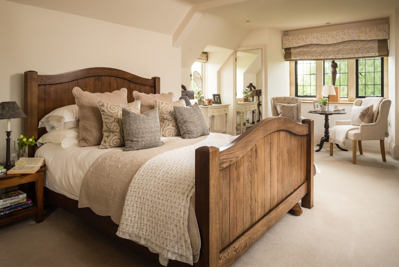 Luxury Self Catering Cotswolds Home Nr Cheltenham And Cirencester Country Cottage Bedroom Rustic Master Bedroom Country Bedroom Cottage bedroom ideas uk