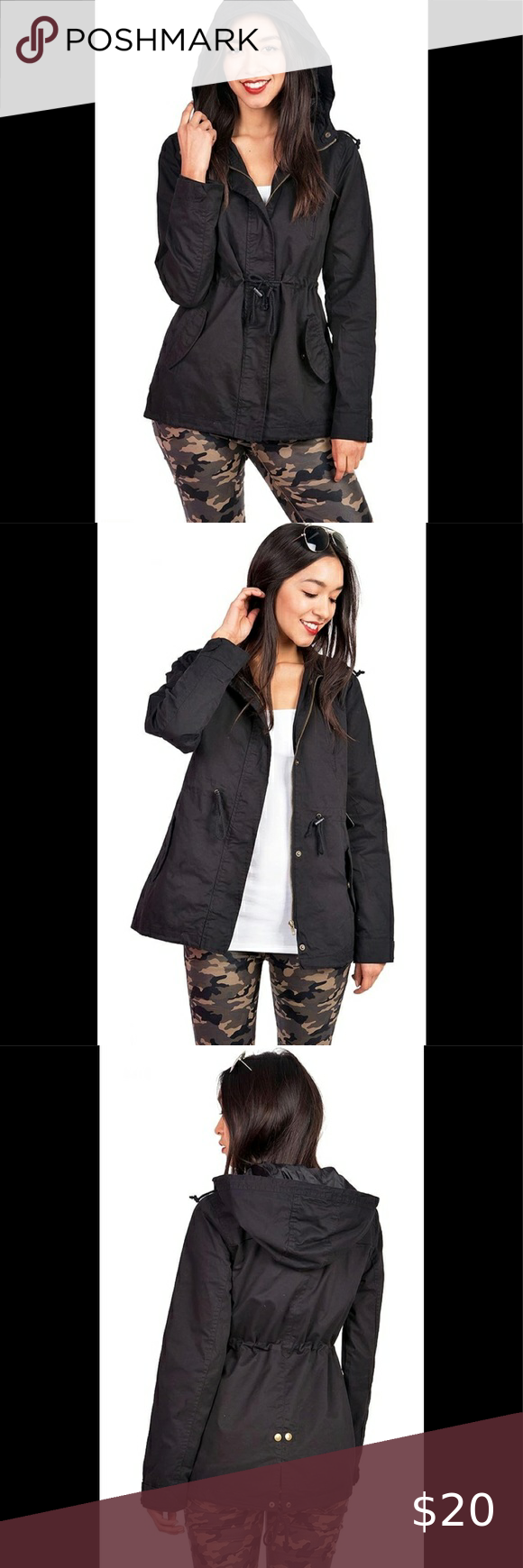 Ambiance Outerwear Cargo Style Hoodie Jacket Style Hoodie Hoodie Jacket Women Cargos [ 1740 x 580 Pixel ]