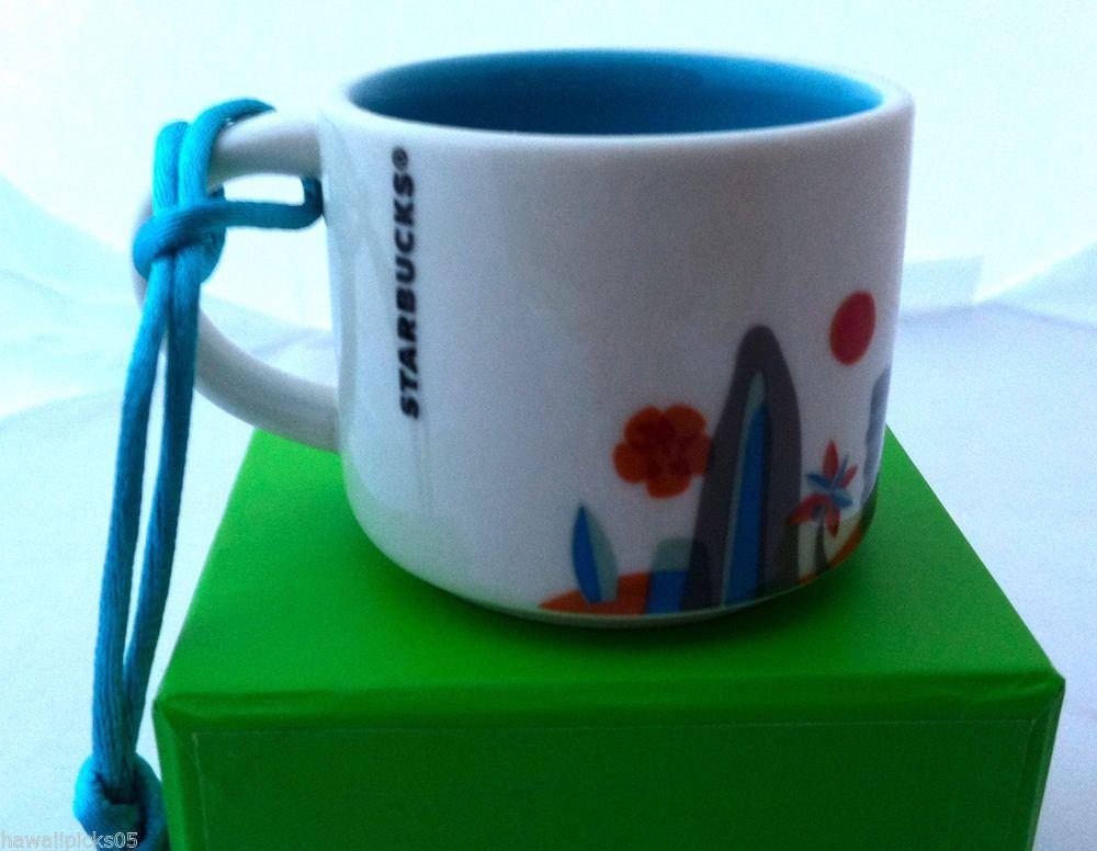 new starbucks hawaii you are here collection coffee mug christmas