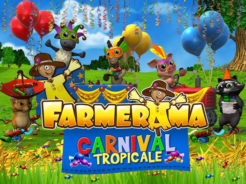 Farmerama – Evento di Carnevale 2015 – Carnevale Tropicale