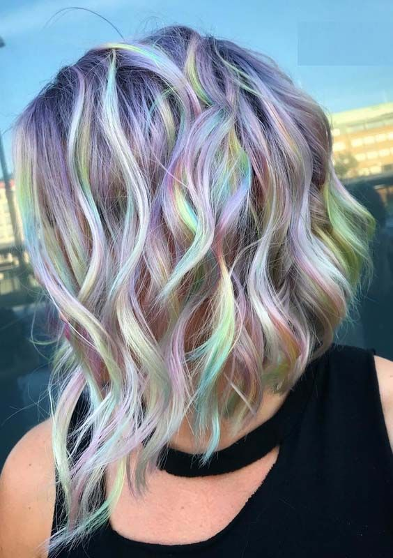 59 Amazing Rainbow Baby Hair Colors Highlights To Sport In 2018