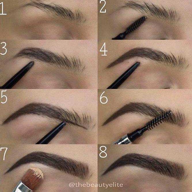 Eyebrow Shadow (With images)   Eyebrow makeup, Applying ...